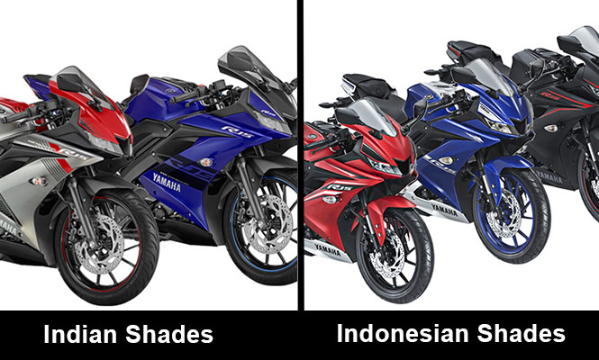 Yamaha R15 V3 Differences Indian Vs Indonesian Model