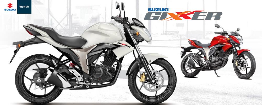 Suzuki Gixxer Motorbike