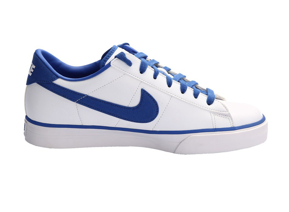 nike sweet classic leather white blue price india specs