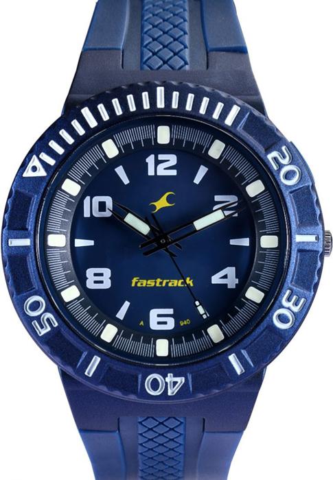 Best Value Auto >> Fastrack Blue Analog Watch Price India, Deals - Sagmart