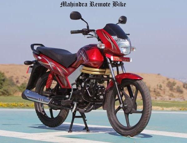 New Mahindra Bike Starts With Remote
