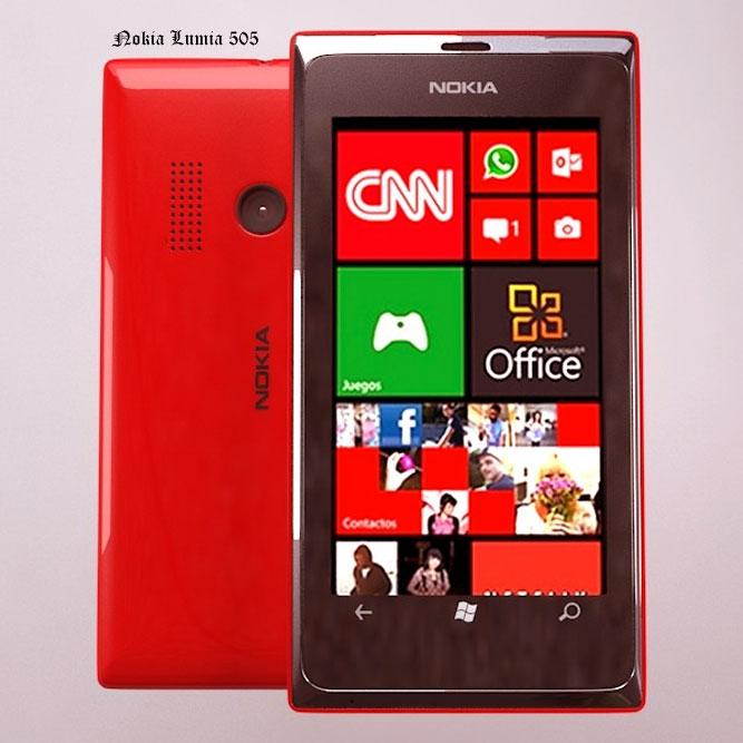 Nokia New Lumia 505 Features