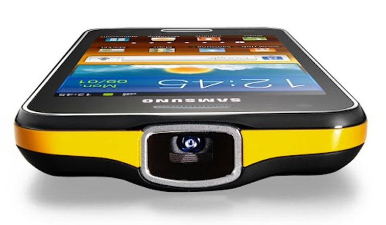 Samsung Galaxy Beam Projector Specification New Mobile