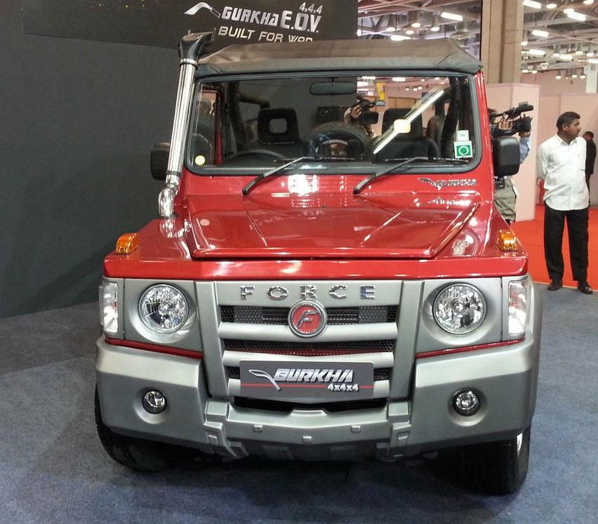 Force Gurkha SUV