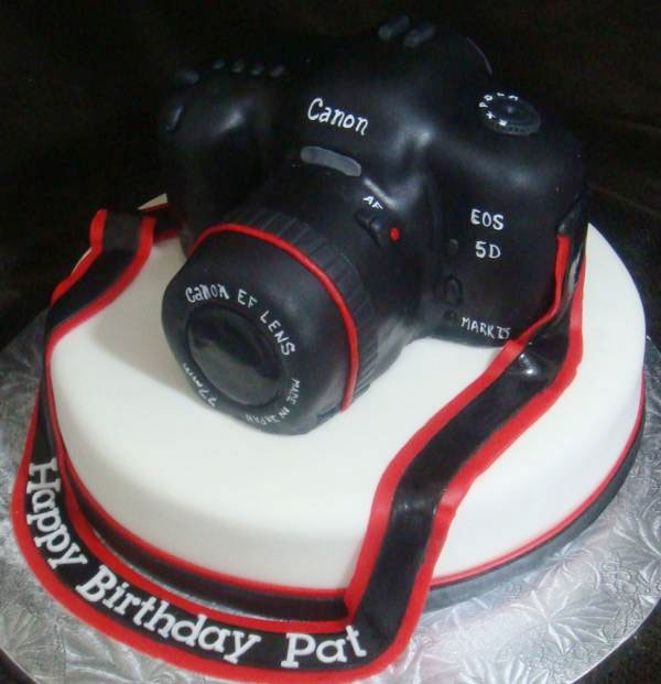 Iphone Cake And Camera Cake