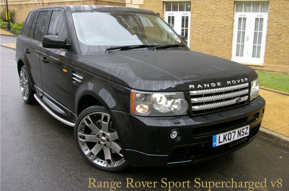 luxury car brand range rover has introduced its fastest car with