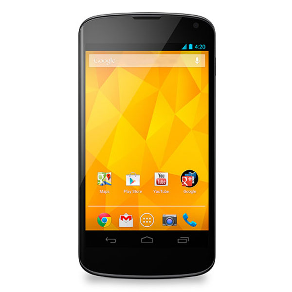 LG Nexus 4 E960 Price India, Specs And Reviews