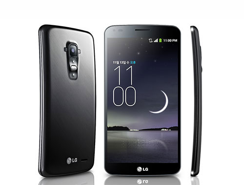 LG G Flex Curved Mobile