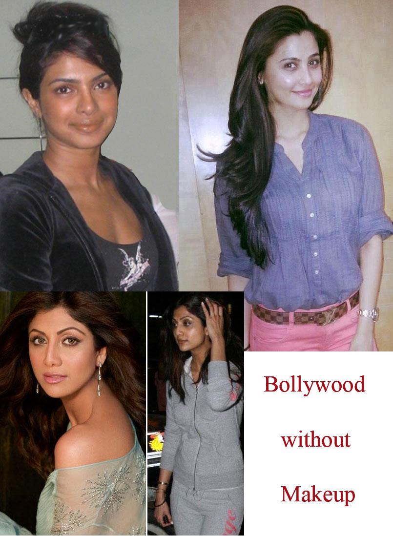 Bollywood Without Makeup War Amid Priyanka Chopra Shilpa Shetty