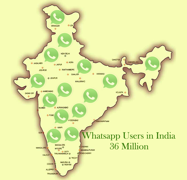 Are Indians addicted to WhatsApp or love the app?