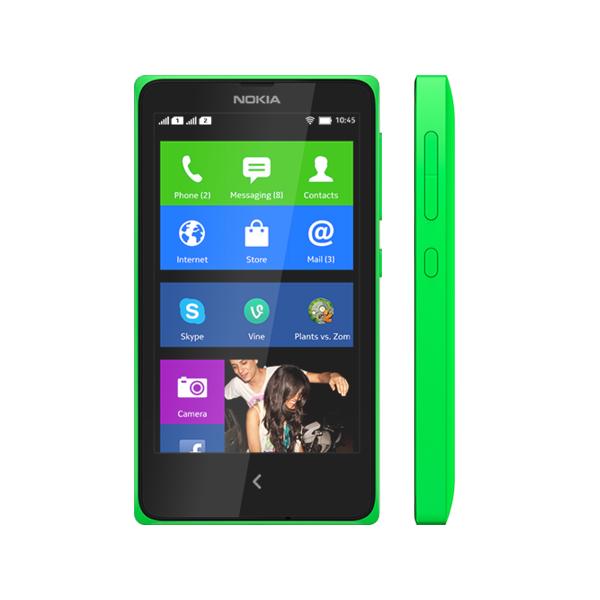 Nokia X Green Color