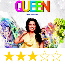 Queen Movie Review, Enjoy the Queen with Kangana