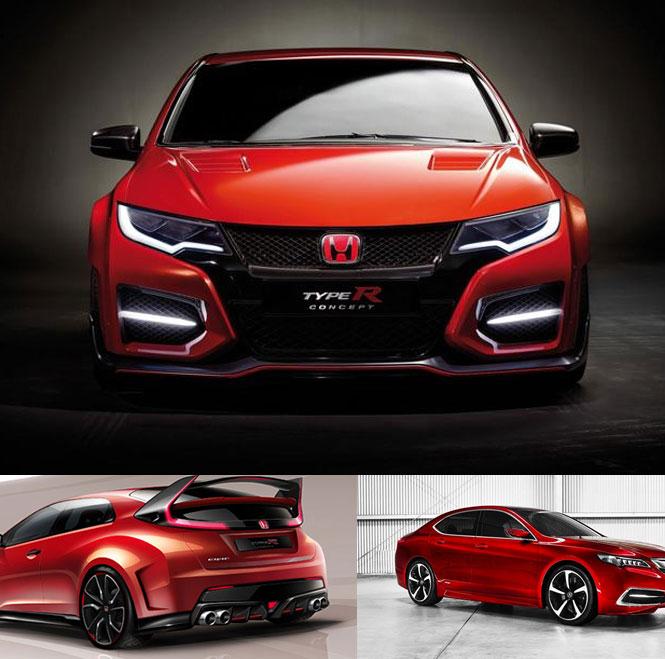 Honda New Spirior Concept Car