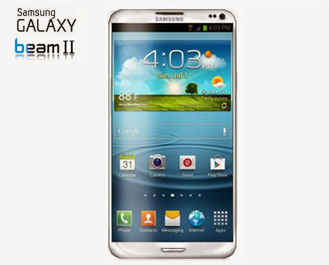 Remarkable smartphone with mini projector samsung galaxy for Samsung beam smartphone