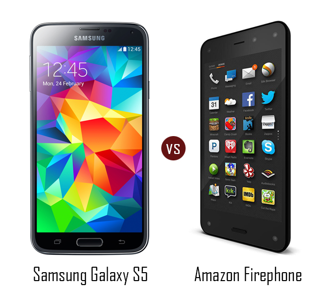 compare amazon firephone vs samsung galaxy s5. Black Bedroom Furniture Sets. Home Design Ideas