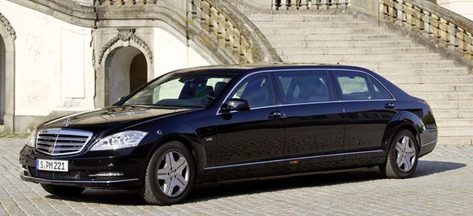 Mercedes benz s class pullman facelift for Elite mercedes benz