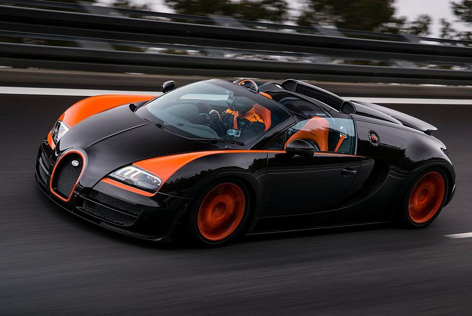 Bugatti Veyron Hybrid Model in Sight