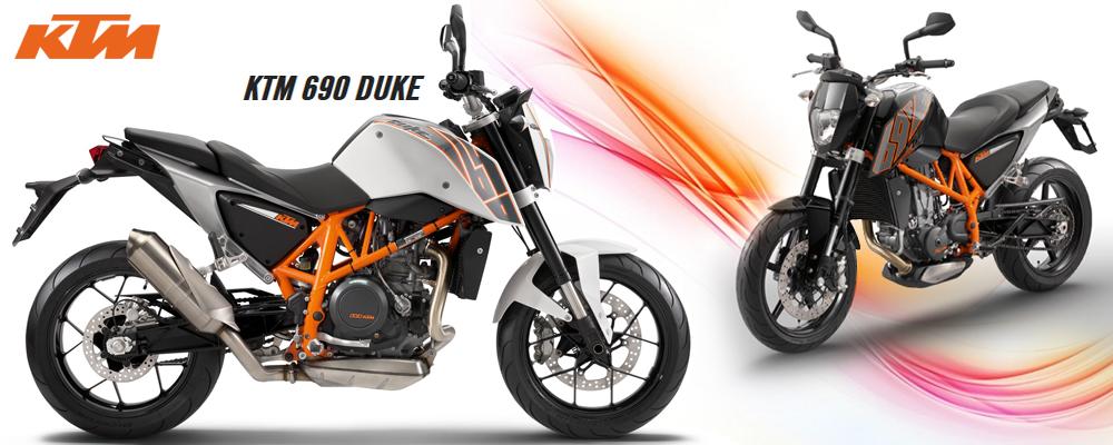 New KTM Duke 690