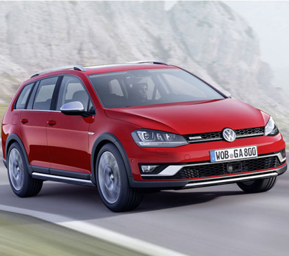 Paris To Bring Out The First Appearance Of The VW Golf Alltrack