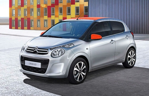 citroen c1 facelift to debut at the paris motor show. Black Bedroom Furniture Sets. Home Design Ideas