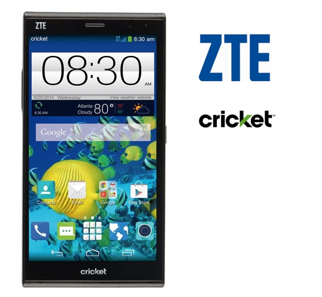 has zte grand max screen size shipping with Android
