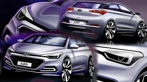 hyundai i20 based crossover to heat the indian shores in march. Black Bedroom Furniture Sets. Home Design Ideas