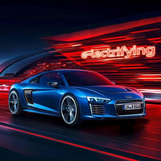 Audi R8 E Tron 2.0 Images Revealed Prior To Geneva Show