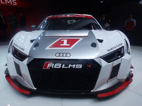 Audi R8 LMS Displayed at Geneva Motor Show 2015
