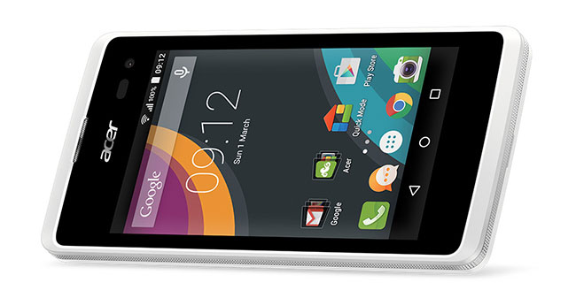 Acer Liquid Z220 Flavoured In Android Lollipop For Budget