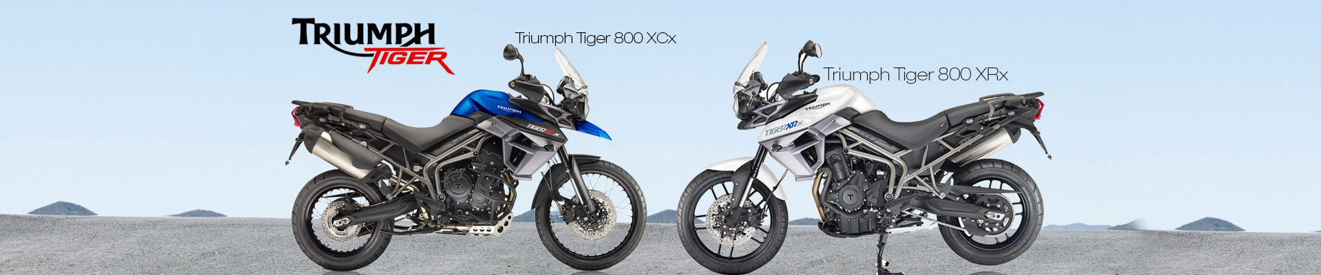 Triumph Tiger XRx and XCx