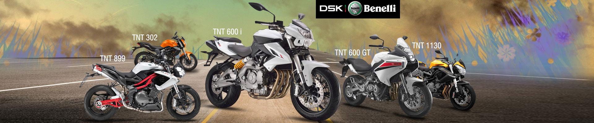 DSK Benelli New Bikes
