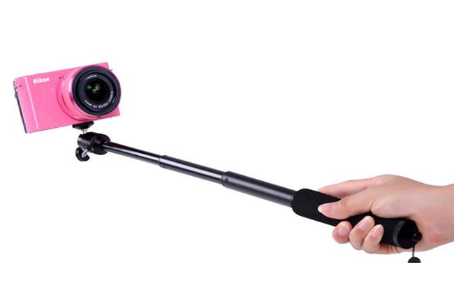 nikon mp001 selfie stick to make your selfie more attractive. Black Bedroom Furniture Sets. Home Design Ideas