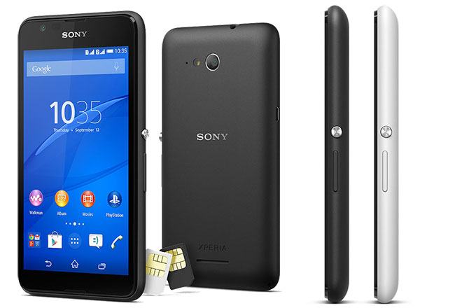 The 4G-enabled Sony Xperia E4g Dual priced at Rs. 13290 ...