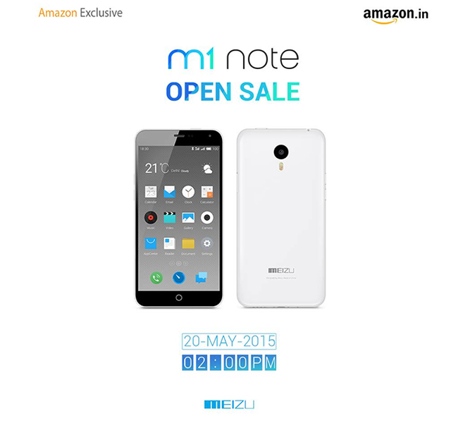Meizu Made India Debut, M1 Note Launched as Amazon Exclusive
