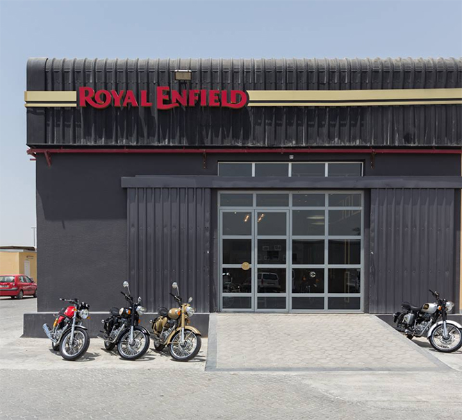 Royal Enfield Opens First Exclusive Dealership In Dubai