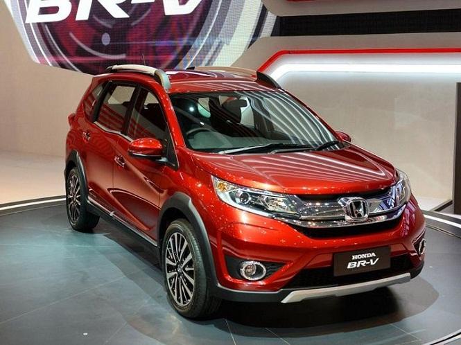 India bound honda br v details revealed for Honda brv philippines
