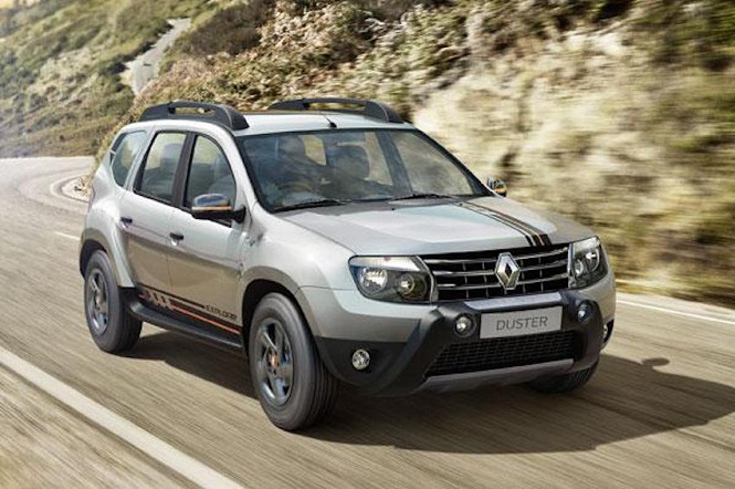 renault duster explore limited edition launched in india. Black Bedroom Furniture Sets. Home Design Ideas