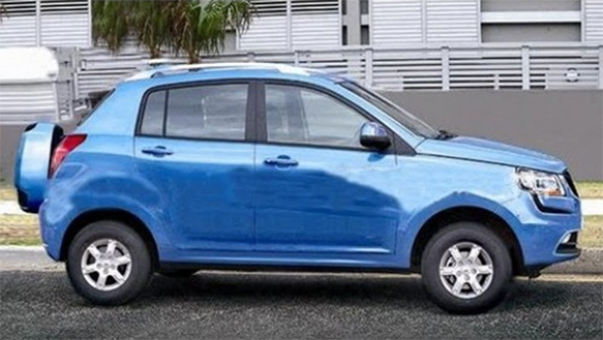 Mahindra S101 to Receive the Official Name XUV100