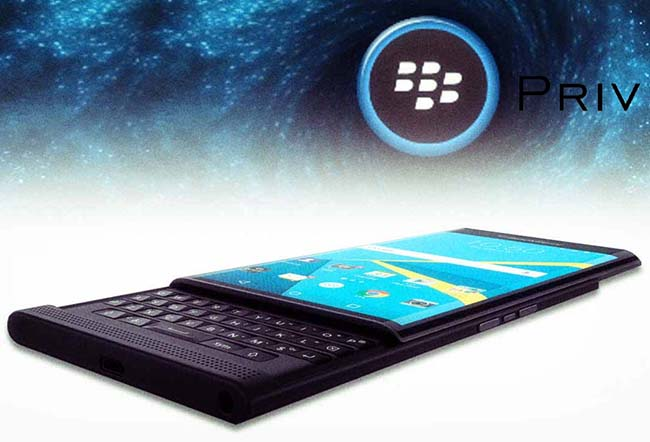 Blackberry Priv goes up for Pre-Order with Price, Availability
