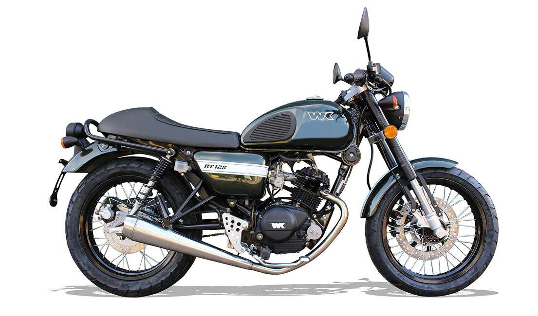 wk launches retro style 125cc motorcycle in the uk market. Black Bedroom Furniture Sets. Home Design Ideas