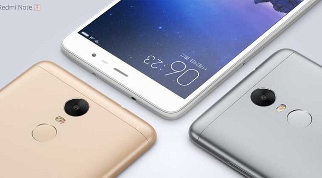 Xiaomi unveiled Redmi Note 3 starting at Rs. 9,500