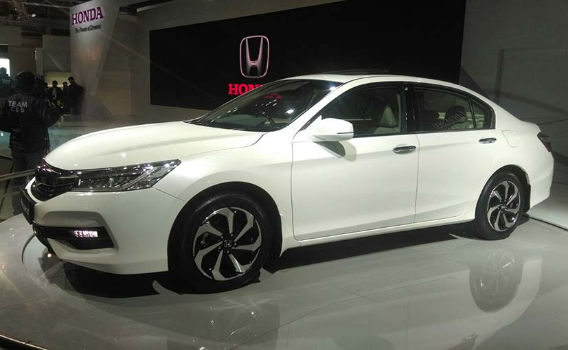 Honda Accord Debuted at the Auto Expo 2016