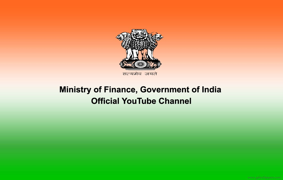 Auto Finance Companies >> An Official YouTube Channel Launched For The Finance Ministry