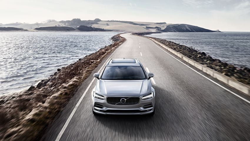 Volvo S90 Wagon Named V90 Officially Revealed