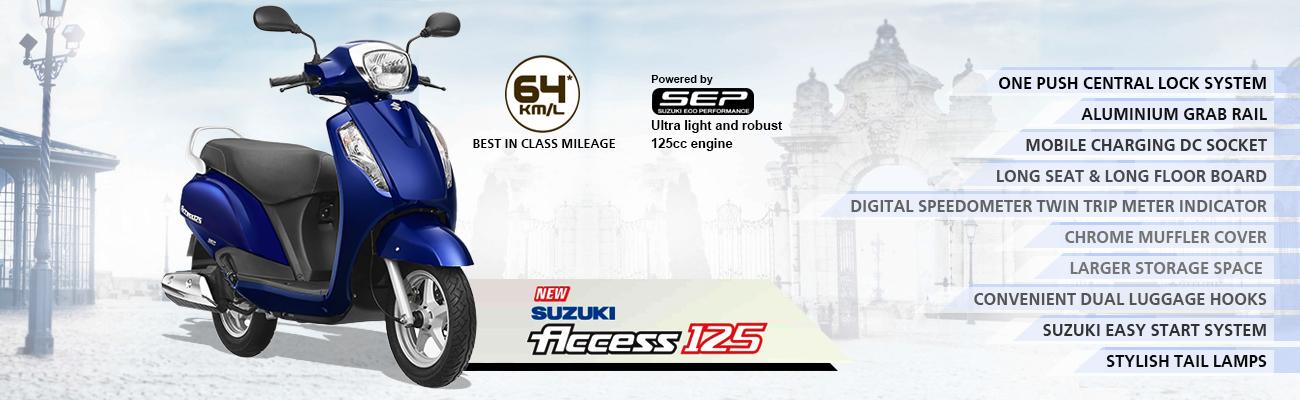 Suzuki Access 125 2016