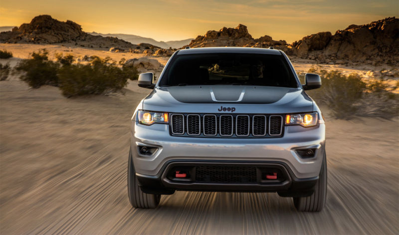 2017 jeep grand cherokee trailhawk surfaced ahead of official debut. Black Bedroom Furniture Sets. Home Design Ideas