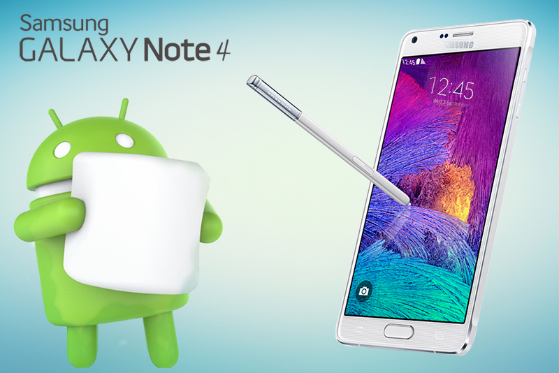 Samsung Galaxy Note 4 Starts Rolling Out Marshmallow Update