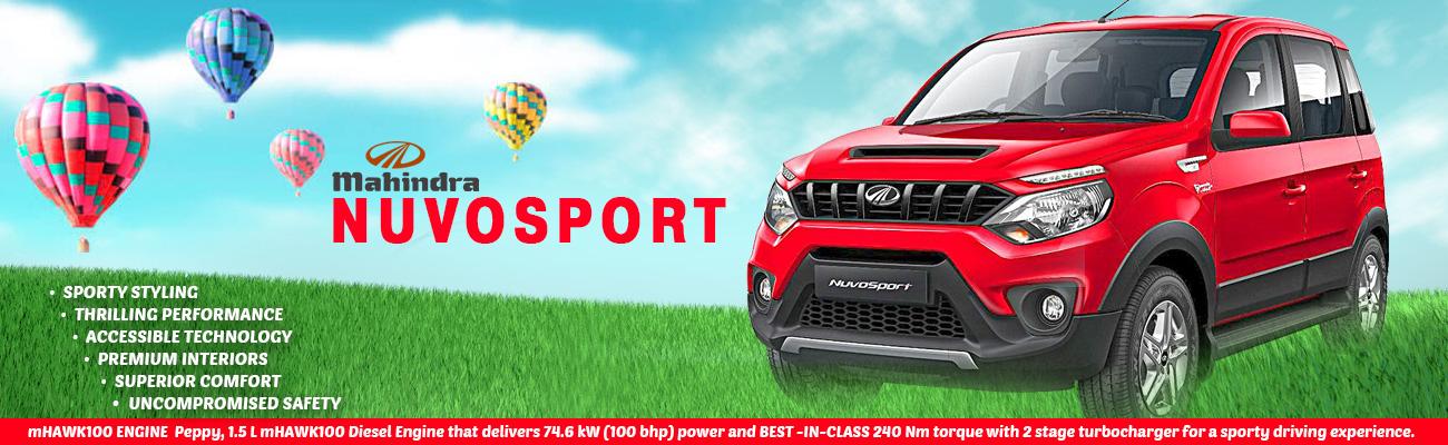 Mahindra NuvoSport with mHawk Diesel Engine