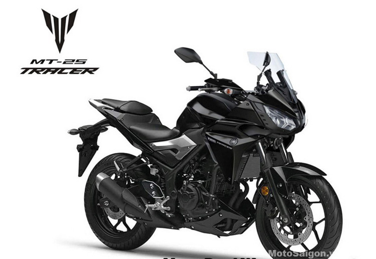 Yamaha Mt 03 Inspired New Tracer 300 Rendered