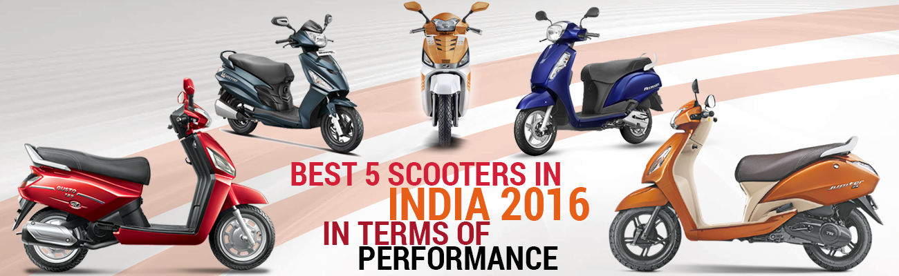 Best 5 Scooters in India